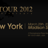 L'Arc~en~Ciel WORLD TOUR 2012 Madison Square Garden ライヴビューイング参戦!
