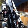 ようやく完成!太陽観測3連テレスコ