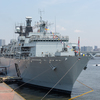英海軍「アルビオン」&護衛艦「うらが」
