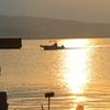 乃木浜漁港で朝マッタリ