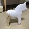白い馬 2頭目を作りました◎