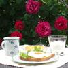 【薔薇のテラスで朝食を】~休日のお楽しみ~