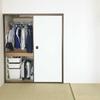 部屋が狭くなっても、持ち物を押入に収め切りたい。
