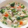 ヤオコー冷凍ミックス野菜の豆乳シチューのレシピ
