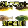 【一誠】フリーリグなど幅広いリグに使用出来るギル型ワーム「ギルフラット」に新色追加!
