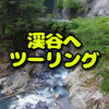 【ロイヤルエンフィールド】静岡県西部の山道をツーリング、素掘りのトンネルや渓谷を楽しみました。