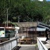 十津川村の中心部に到達