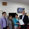 19日、トリチウム水海洋放出問題で東電に抗議の申し入れ。福島復興本社副代表が対応。