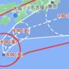 台風第14号が来てます。。。