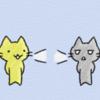 基本動詞のイメージ「会話する talk」