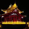 乱れた鉄道で襄陽へ、襄陽市プチ観光と夜景 GW重慶市-長江三峡-湖北省の旅(16)