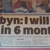 海外の反応 労働党党首コービン氏、私はあと6か月で首相になる