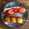 今日のおやつ 古都芋本舗のお団子