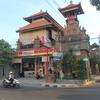 クタ(バリ島)、ヒンズー寺院などの建物はとても個性的。