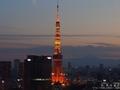 結婚記念日に見た東京タワーと夜景