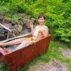 夏に最適な、冷た過ぎる温泉。