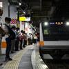 奥多摩行き最終電車