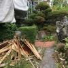 工事と庭石の行方