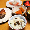 むかごご飯と純和風晩ご飯