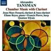 タンスマン/クラリネットのための室内楽集