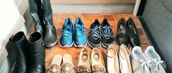 【靴箱を公開】靴は全部で9足に!この1年の靴と収納の変化