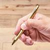 【新商品情報】「ボディを折るシャープペンシル」にゴールドバージョンが新登場
