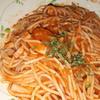 サイゼリヤの「アラビアータ」をスパゲッティ麺で食べてみました!