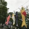 「おいしい鯉のぼり」が東京ミッドタウンに集結!