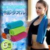 3枚セット冷却タオル 瞬冷タイプ 熱中症対策  スポーツタオル