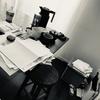 【片付け】散らかった机の上をリセット。書類、郵便物、財布、メモ。
