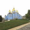 ウクライナ旅行[73] (2019年5月) キエフ観光のコツ:ドニエプル河・キエフ河川港から聖ミハイル黄金ドーム修道院へフニクラを利用して行く方法