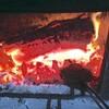 薪ストーブでオーストラリアのホットサンドJaffle!