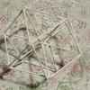 【Semiotics】数と図形と法則:「3」が象徴する「三角形の法則」⑧立体模型 シード・オブ・ライフ