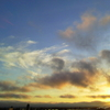 7月11日宵 金星と木星 のち曇る。。