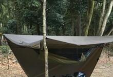 冬用装備で暖かいハンモック泊を楽しもう!アンダーキルトや寝袋などの防寒アイテム
