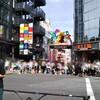 夏休みの原宿(竹下通り)に行った。