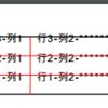 PythonのReportLabで、表(TableやTableStyle)について調べてみた