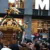 日本橋「山王祭」半纏に神輿、そして高島屋