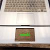 【レビュー】macの手首の部分にmoshi製パームレストガードを貼ってみた!
