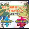 【ポケモンソード・シールド(剣盾)】便利な育成・戦闘用アイテム入手場所まとめ(画像付き)