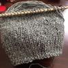Windswept スワッチを編みました