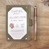 ヴィンテージ感ある、古代 銅(カッパー)色の万年筆インク