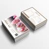 サロン名刺|美容名刺多数!送料無料のテンプレート名刺で可愛いおしゃれ名刺を作成