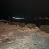 2019.1.9 石狩湾新港樽川埠頭でニシンでも。