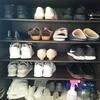 スニーカー処分で、靴の数。