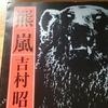 今日の漢字516は「嵐」。吉村昭の「羆嵐」は恐ろしい小説である