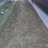 防草シートを敷くシリーズ2 整地と除草剤を散布
