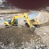 瀬野川の復旧工事が始まりました。