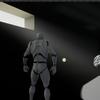 ボリューメトリック フォグを使って、光が差し込む感じの絵を作る