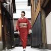 【着物姿で秋の京都を散策】KIHARUの着物は秋からが本番です。